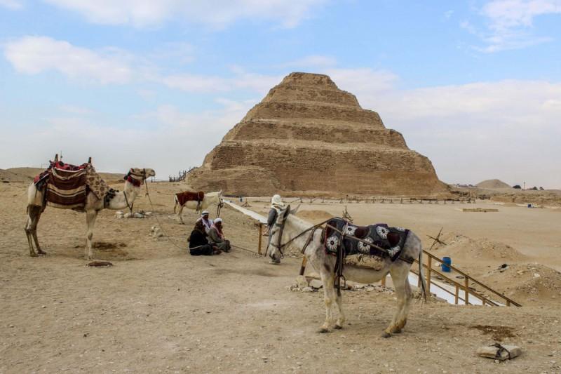 Stupňovitá pyramida
