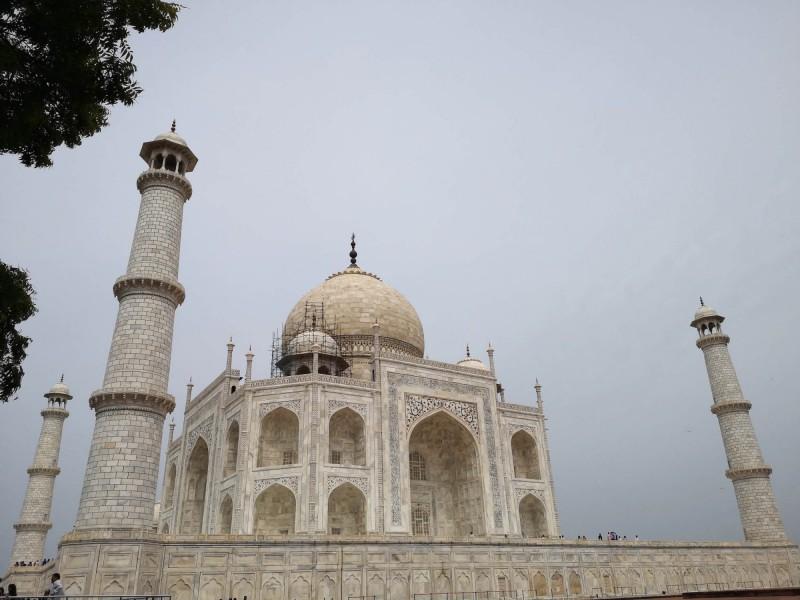 Detail na Tádž Mahal
