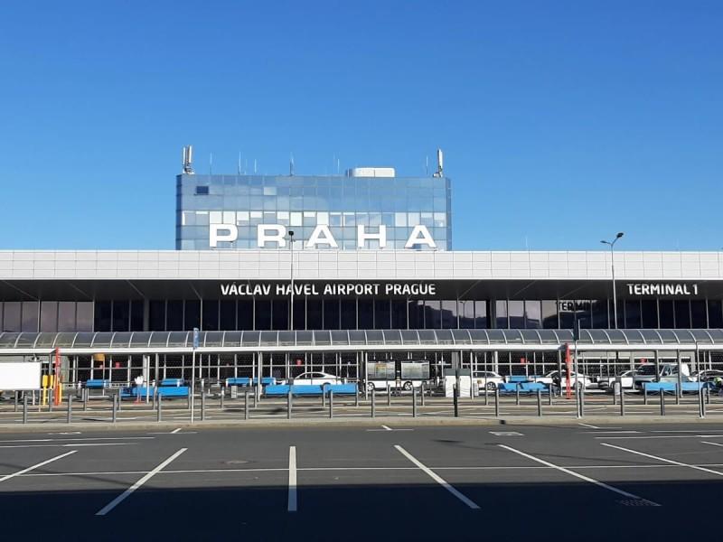 Terminál 1 letiště Praha.