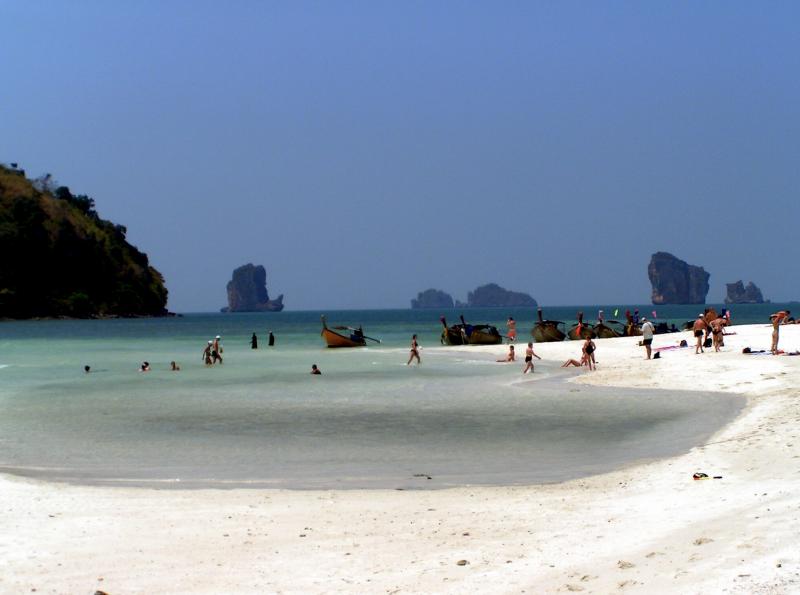 Thajské pláže