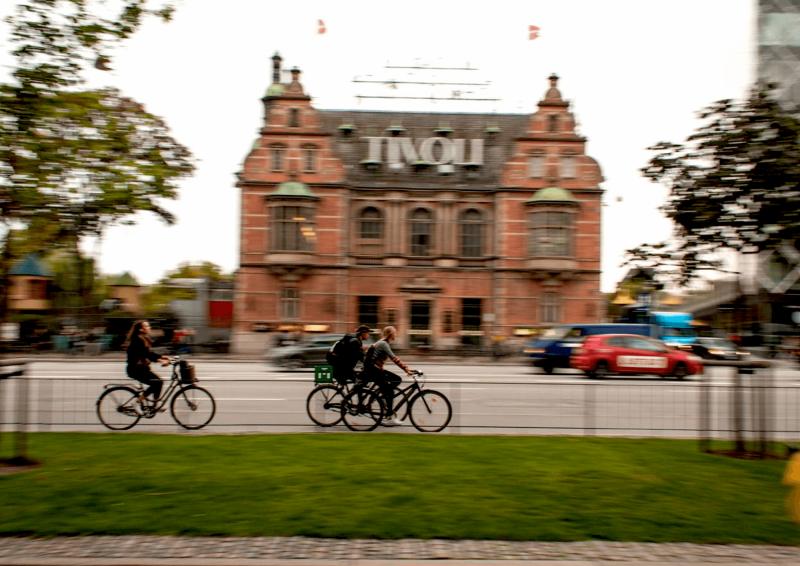 Zábavní park Tivoli.
