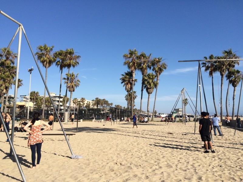 Venice Beach v Californii