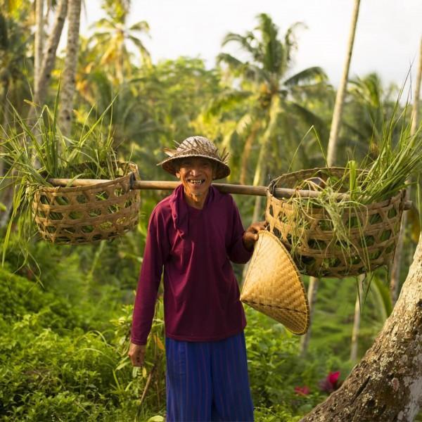 Vesničan z Bali