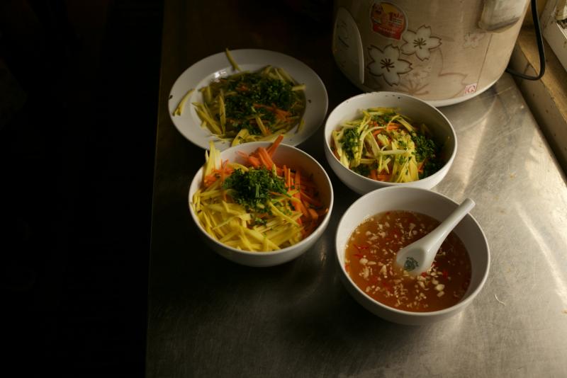 Vietnamský street food