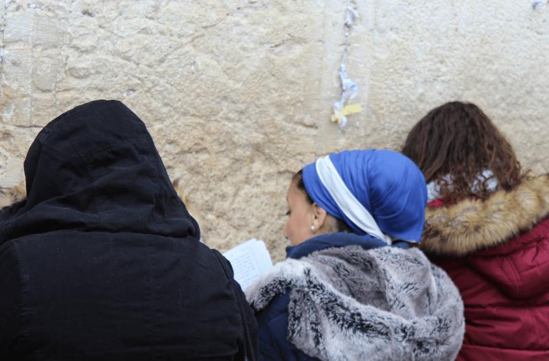 Ženy pri Zdí nářků