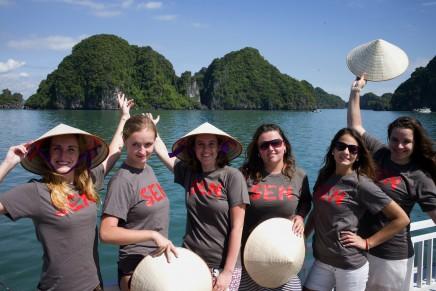 Uděláte si skvělé fotky s Halong Bay
