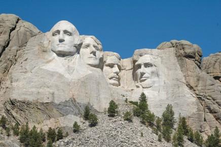 Asi nejznámější atrakcí Jižní Dakoty je Mount Rushmore