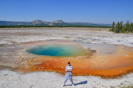 Překrásný národní park Yellowstone