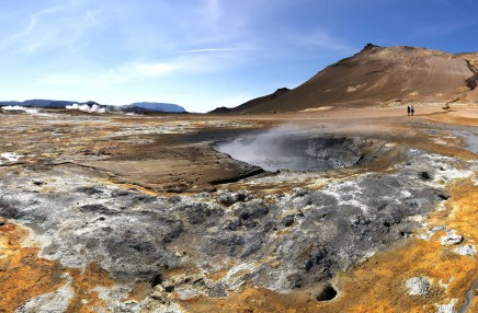 Neuvěřitelně krásna příroda kousek od jezera Mývatn