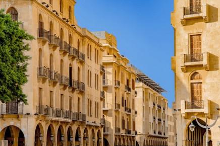 Moderní centrum Bejrútu prošlo rekonstrukcí. V minulosti zde byla válečná zóna.