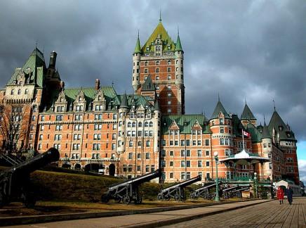 Quebec City - Chateau Frontenac, ikonická stavba města