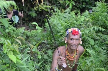 Siberuťané se pohybují džunglí neskutečně rychle