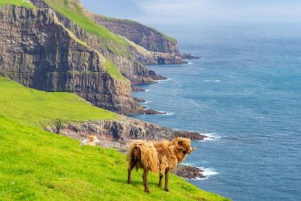 Překrásná země v divokém severním Atlantiku