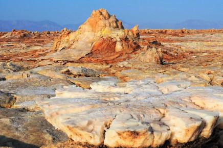 Danakil nabízí neskutečné přírodní úkazy