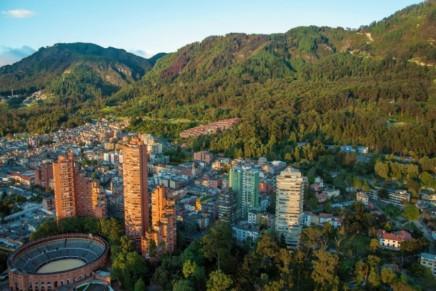 Centrální Bogota,město zlata ve stínu And
