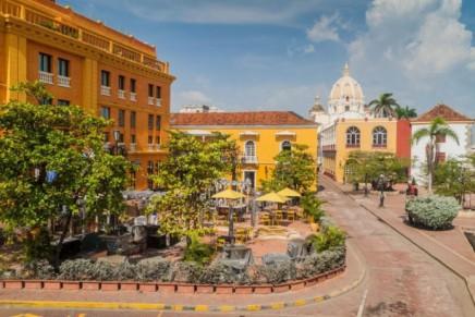 Kolumbijská města dýchají tajemnou atmosférou