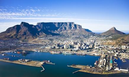 Stolová hora dominuje Kapskému městu