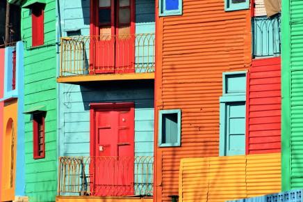 Projdete si proletářskou čtvrť La Boca