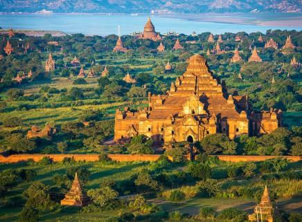Spočítáte všechny chrámy v Baganu?