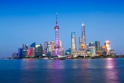 Vychutnáte si i moderní Šanghaj