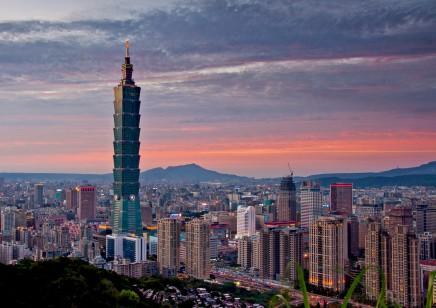Taipei, hlavní město čínské provincie, která se v roce 1949 odtrhla od Číny