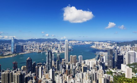 Nejslavnější pohled na Hongkong najdeme na proslavené vyhlídce Victoria Peak