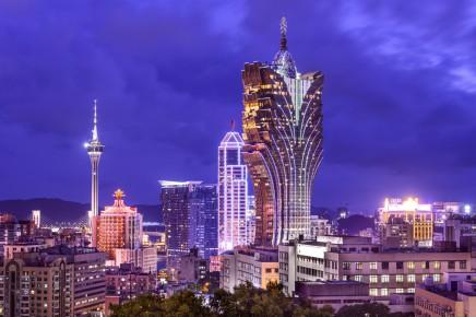 Obrovské kasino v Macau