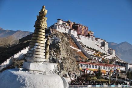 5. Dalajláma stavěl Potalu v 17. století 50 let