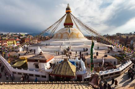 Budeme obdivovat architekturu Nepálu