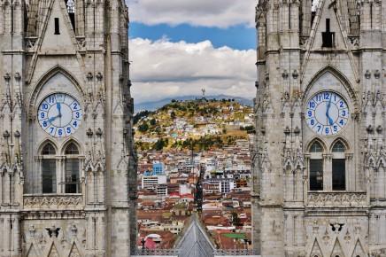 Quito - krásné hlavní město Ekvádoru