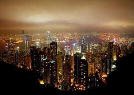 Vychutnáte si večerní Šanghaj