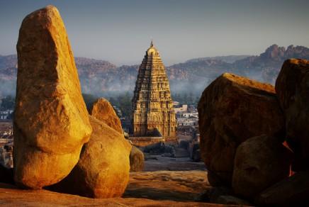 Virupakšský chrám - místo, které by měl v Indii navštívit každý turista