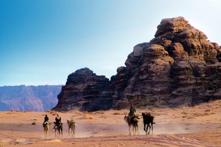 Na Wadi Rum prožijeme příbeh slavného Lowrence z Arábie