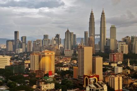 Přistáváme v ultra moderním Kuala Lumpur