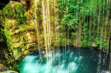 Mexická příroda Vás okouzlí