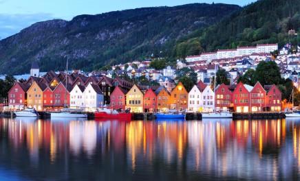 Norský Bergen má své kouzlo
