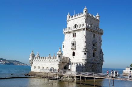 Věž Belém je místem, odkud vyplouvali mořeplavci do širého světa