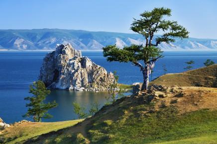 Ostrůvek Olchon patří k ikonám Bajkalského jezera