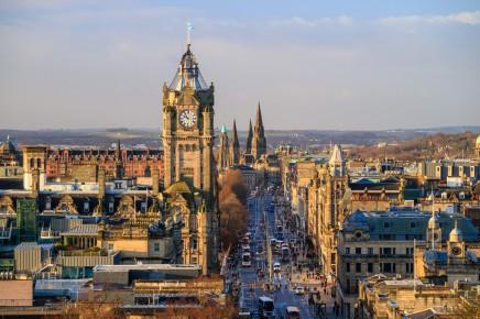 Edinburgh vás ohromí svojí krásou a atmosférou
