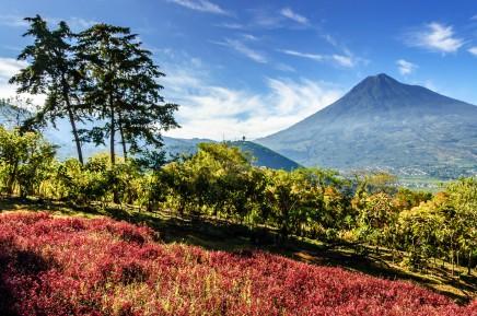 Sopečná příroda Střední Ameriky
