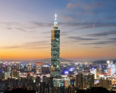 Nejvyšší vět Taiwanu, Taipei 101