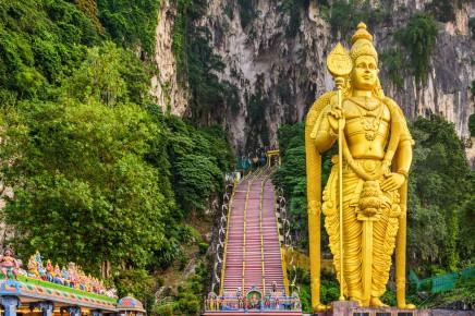 Hinduistická jeskyně Batu