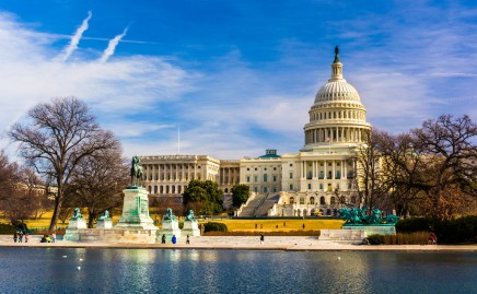 Washington DC - US Capitol - asi nejdůležitější budova Spojených států