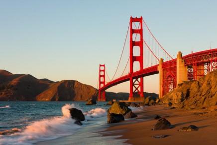 Procházka pod Golden Gate Bridge