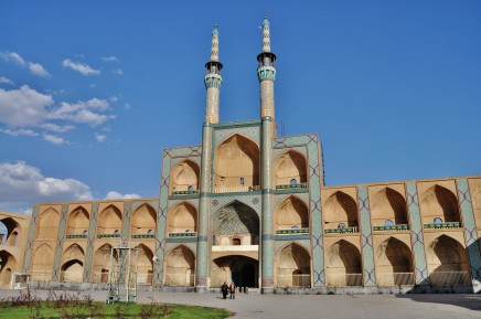 Mešita v Yazdu - jednom z nejstarších měst světa
