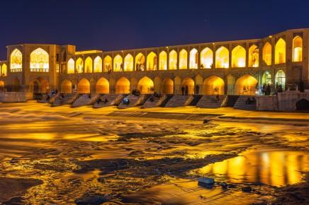Slavný most v Íránu