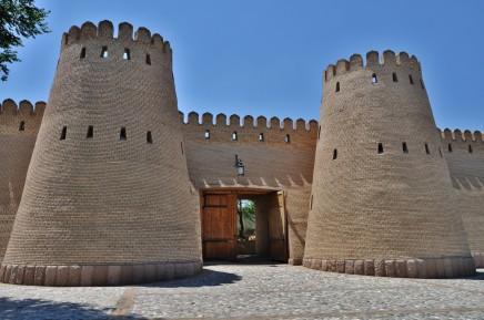Starověká pevnost v tádžickém Chudžande dnes ukrývá historické muzeum