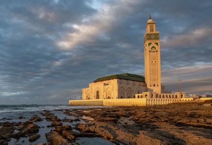 V Casablance navštívíte mešitu Hasana