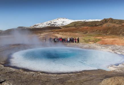 S CK SEN se podíváte do geotermální oblasti Islandu