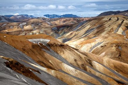 Fantastické Duhové hory Landmannalaugar